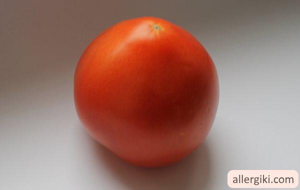 Аллергия на помидоры.